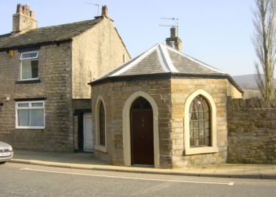 Toll gate keeper's cottage, Mossley